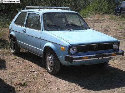 1978 Volkswagen Rabbit Diesel