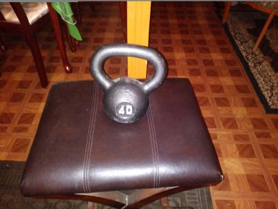 40lbs Kettlebell for Sale