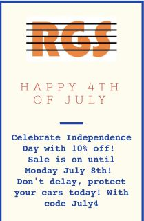 Radiator Grille Store July 4th weekend sale!