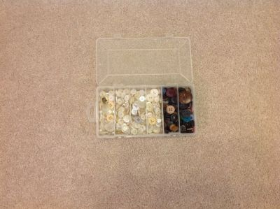 Old Buttons- Large Collection