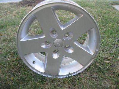 """$300 Five 17"""" Jeep Chrome Rims"""
