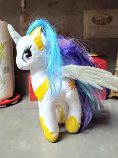 """PRECIOUS """"MY LITTLE PONY"""" T.Y. NAMED SPARKLE"""
