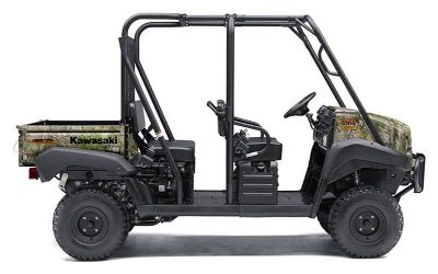 2019 Kawasaki Mule 4010 Trans4x4 Camo Utility SxS South Haven, MI