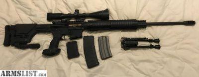 "For Sale: Rock River Arms Custom Built Long Range AR-15, 24"" Barrel, Prs Stock 5.56mm NATO"