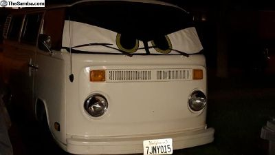 VW Bus Windshield cover W/Eyes