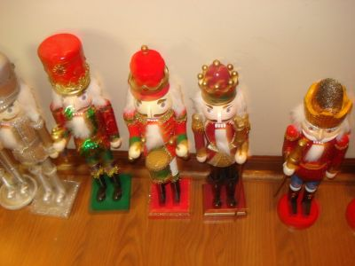DEPT. 56-nutcrackers-blow molds - much much more - ESTATE SALE ---- PRICES REDUCED OVER 400+ ITEMS