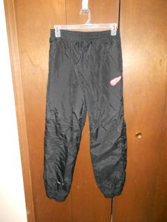 NHL Red Wings emblem insulated track pants