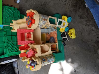 Vintage Fisher Price Castle Rare!!