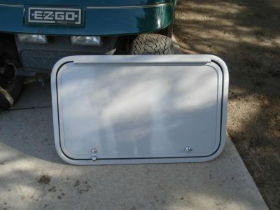 "Find Trailer Baggage Door, Clay Color, 29"" X 18"", Keys / Locks / Frame, Etc. New motorcycle in Adrian, Michigan, US, for US $55.00"