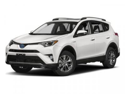 2017 Toyota RAV4 Hybrid XLE (White)
