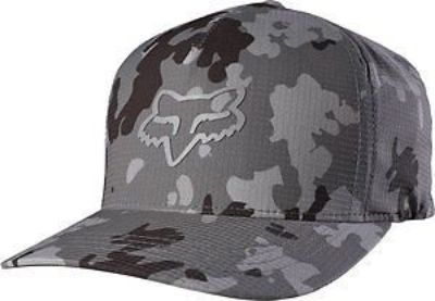 Buy Fox Racing Stepped Up Mens Flexfit Hat Gray LG/XL motorcycle in Holland, Michigan, United States, for US $26.74