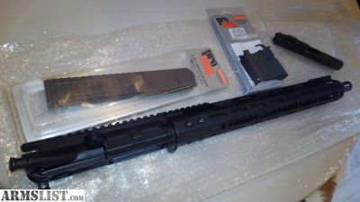 For Sale/Trade: ar 9mm upper