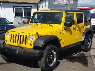 2008 Jeep Wrangler Unlimited X 4x4 4dr SUV