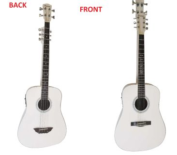4 String Bass/ 6 String Acoustic Double Neck Busuyi Guitar