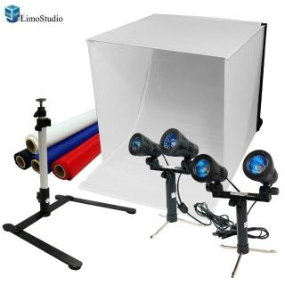"""Brand New!!! - LimoStudio 24"""" Table Top Photography Studio Light Tent Kit in a Box"""