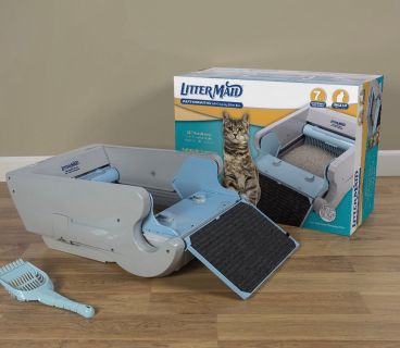 Littermaid automatic cat boxes