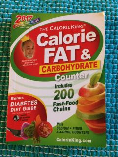 Calorie , carb and fat counter