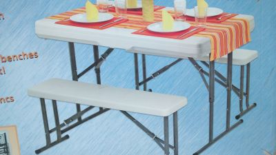 Party or camping table set