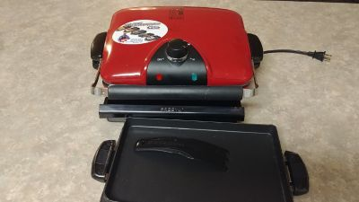 Foreman Grill with removable plates