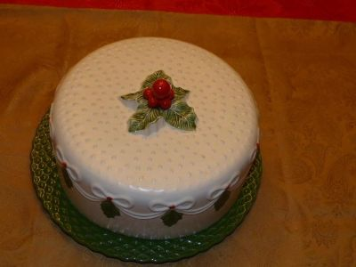 Beautiful Cake Plate and Cover