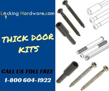 Save on Thick Door Hardware Kit