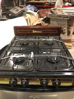 Brand new camper cook stove table top