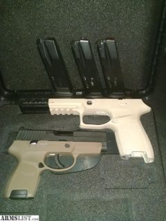 For Sale: Sig P250 w/extras