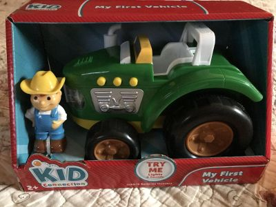 Kid Connection-My First Vehicle tractor-NIB