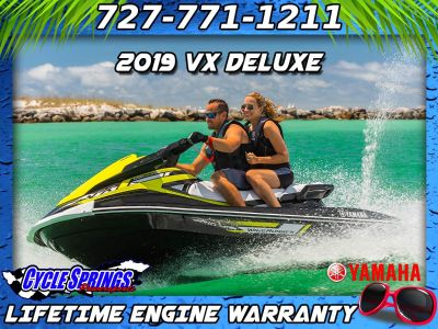 2019 Yamaha VX Deluxe 3 Person Watercraft Clearwater, FL