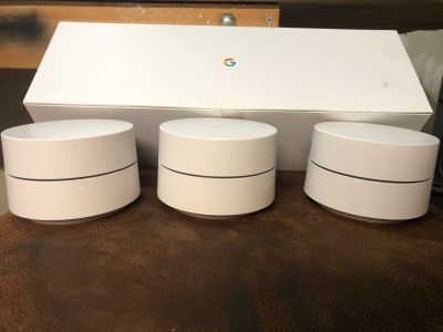 Google WiFi Router AC1200 - 3 Pack