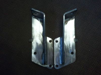 Find 1963-1987 Chevy/GMC Truck C-10/20/30 Front Shock Re locator Brackets motorcycle in Euclid, Ohio, United States, for US $49.95