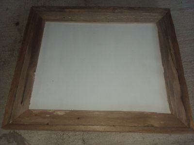 Barn wood picture frames