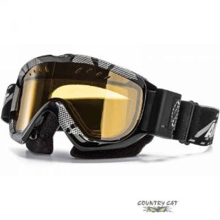 Buy Arctic Cat Smith Turbo Fan Snowmobile Goggles - Black with Amber Lens - 5252-488 motorcycle in Sauk Centre, Minnesota, United States, for US $141.99