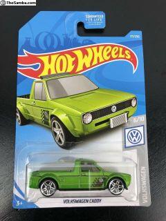 2019 Hot Wheels VW Caddy Rabbit Pick Up