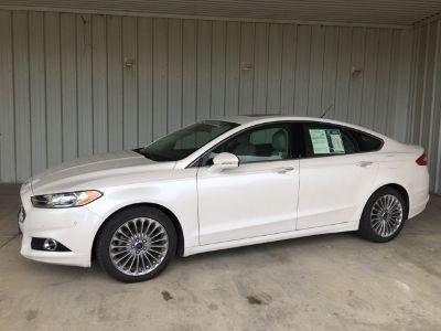 2015 Ford Fusion Titanium (White)
