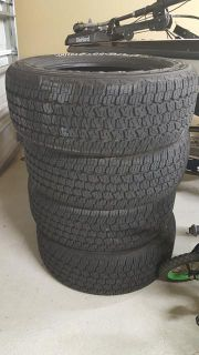 $500, 4 Goodyear Allterrain tires