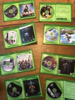 Eight Xbox One games