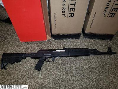 For Sale: Zastava N-PAP AK 47 Like New