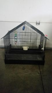Bird cage 15 wide x 22 long x 23 tall