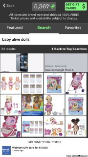 Baby alive,ps4 and other kids toys all for free with free shipping just read the ad for all the info