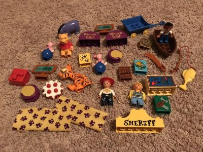 LEGO Duplo Disney Character Figures and accessories
