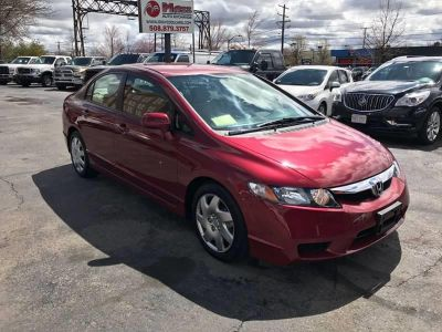 2009 Honda Civic LX (Red)
