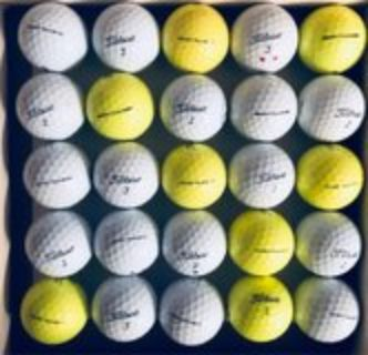 30 Titleist NXT Tour S used golf balls near mint condition
