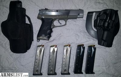 For Sale/Trade: 1993 1st Gen Ruger P89DC 9mm. $450.00