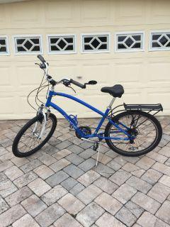 21-Speed Townie Bicycle