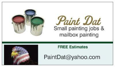 Small job painting & mailbox painting