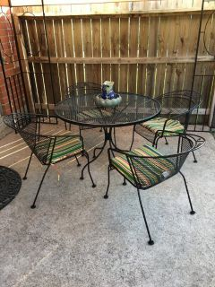 Heavy metal Patio Furniture lounger umbrella and stand