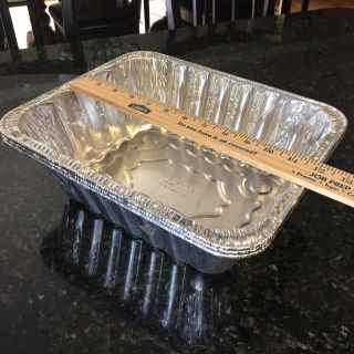THREE Foil Pans, 11 , Excellent Condition, $1.50 for all