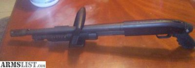 For Sale: Mossberg 500 chainsaw 12 gauge