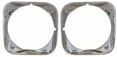 Sell HEADLAMP BEZEL SET 1971 Chevelle or El Camino motorcycle in Oklahoma City, Oklahoma, United States, for US $99.00
